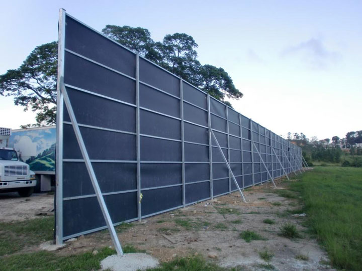 Accoustic BarrierSERVICES   SI Acoustic Sdn Bhd. Exterior Soundproofing Panels. Home Design Ideas